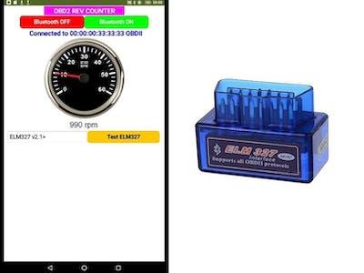 OBD2 rpm Meter