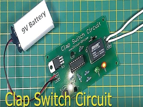 Simple Clap Switch Circuit Using Transistors Manual Guide