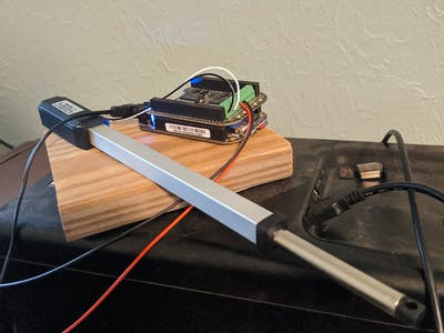 BeagleBone Black Wireless, MotorCape, and Linear Actuator!