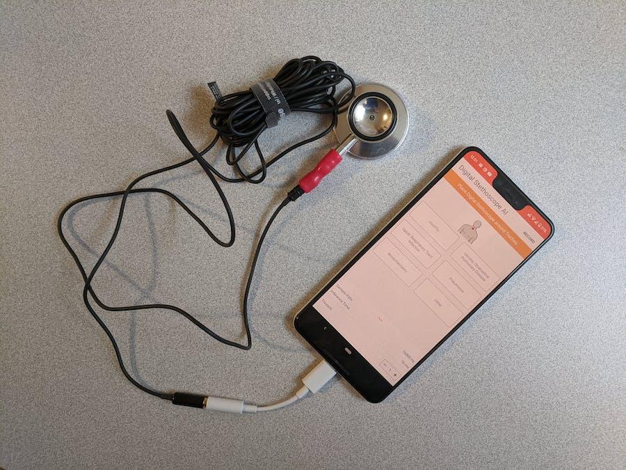 Digital Stethoscope AI