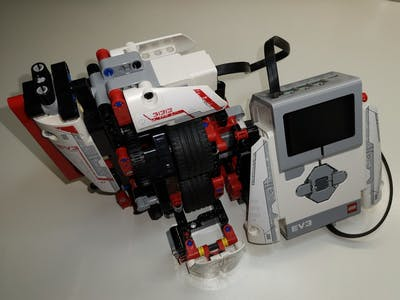 LEGO EV3 Mythical Creatures DNA Scanner