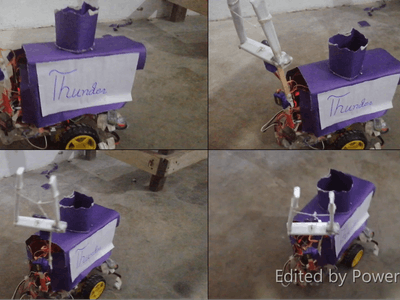 Pick and drop Robot using Arduino and Bluetooth module