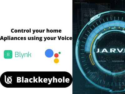 Control your home appliances using your voice
