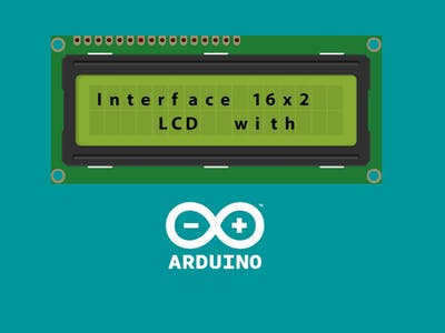 Interface 16x2 LCD (parallel interface) with Arduino Uno