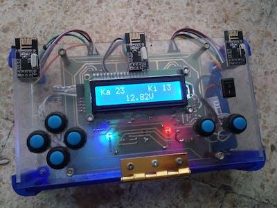 Mini ARM Robot use Multichannel NRF24