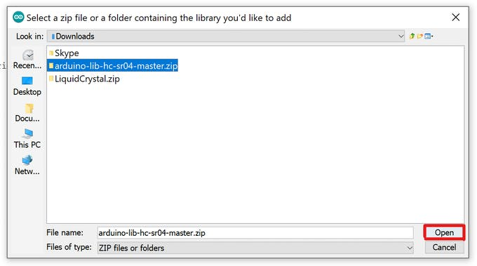 Importing a library