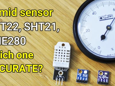 Humidity Sensor Calibration