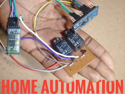 Simple Home Automation (custom Bluetooth Application)
