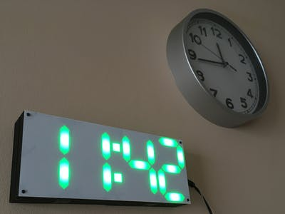 LED Pixel Clock