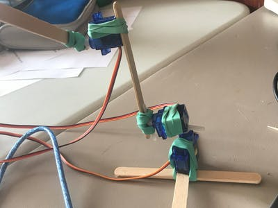 Most Simple Robot Arm out There (Easy!)
