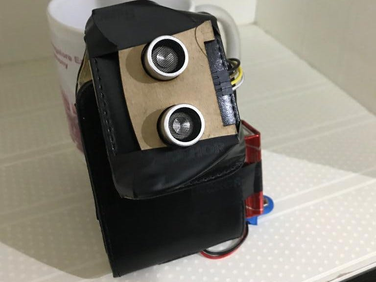 Wearable Social Distance Detector Gadget