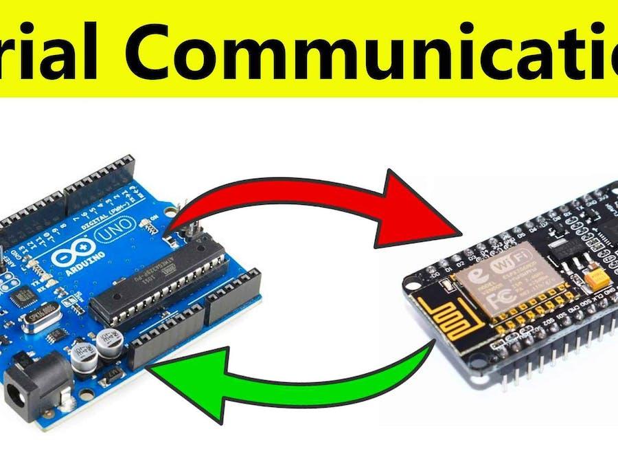 Send Data From Arduino to NodeMCU and NodeMCU to Arduino...