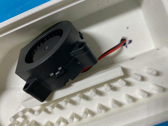 Prototype assembly - blower fan