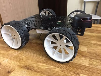 Mini Autonomous Rover