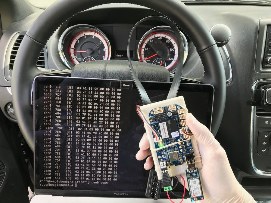 ChupaCarBrah - Car Hacking with BeagleBone and Python
