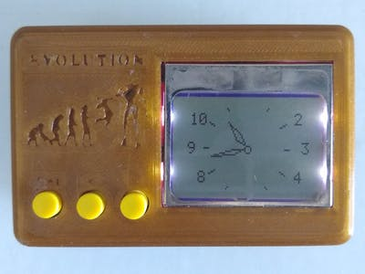 Nokia Analog Digital Alarm Clock