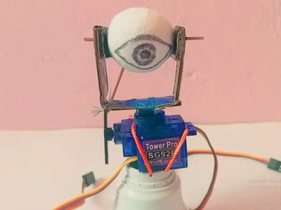 3D Robotic eye/270' rotation/#smartcreativity