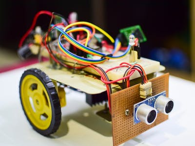 Bluetooth Controlled Obstacle Avoidance Robot