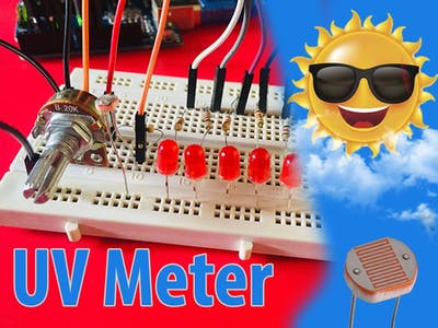 Arduino UV Meter with 1530 Levels