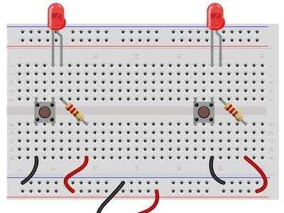 Understanding the internal Connections in a Push Button