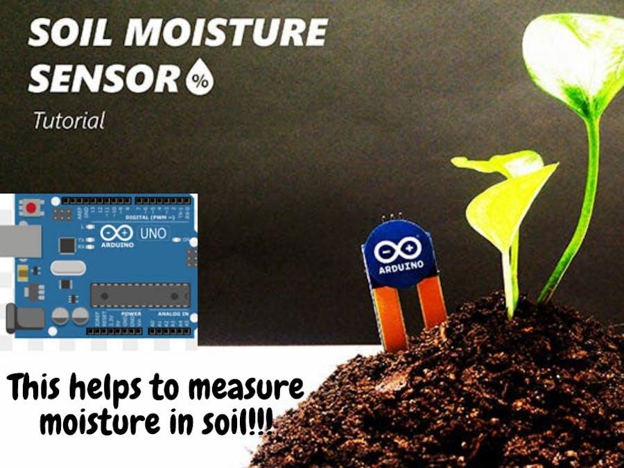 Make your own soil moisture sensor with arduino!!