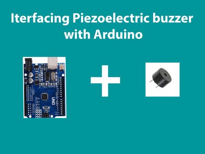 Interface Buzzer With Arduino Uno