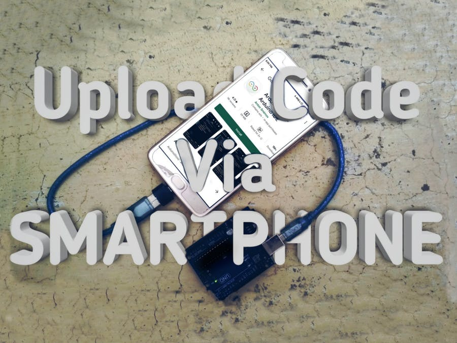 Arduino Programming Via Mobile || Arduinodroid ||