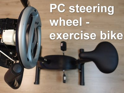 Exercise Bike - as a Gaming Device for PC