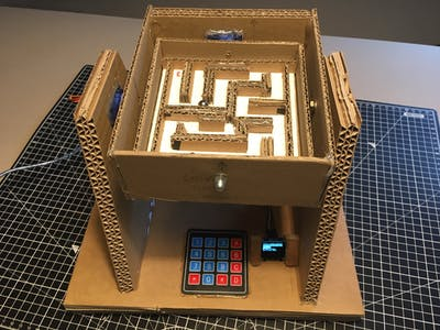 Automatic marble labyrinth solver
