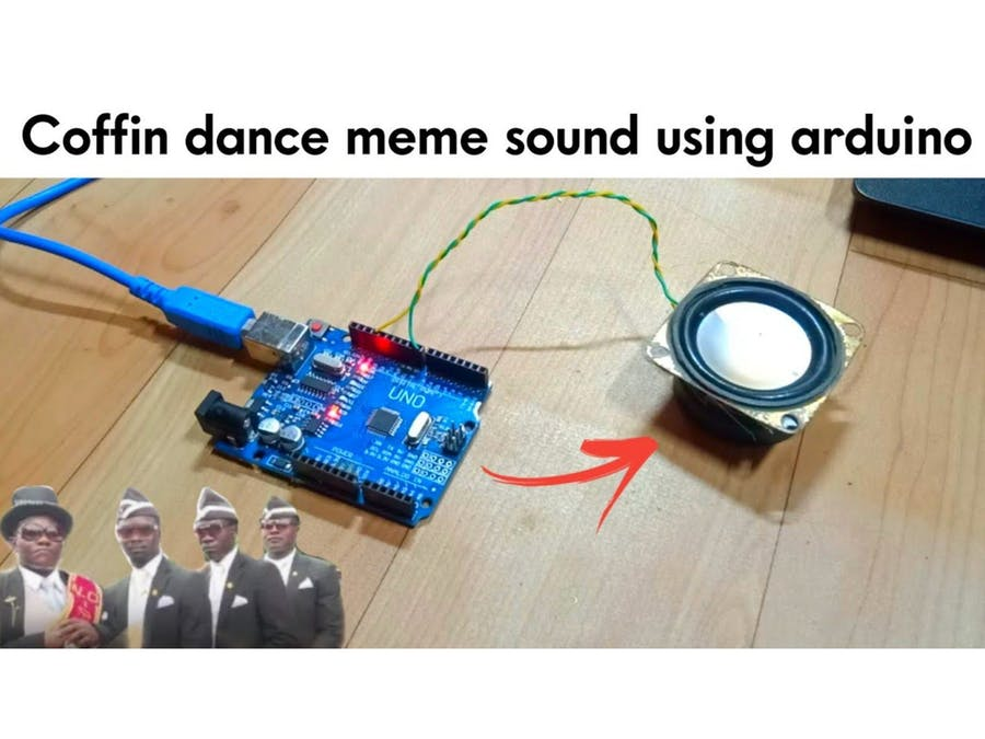 Coffin meme sound using arduino
