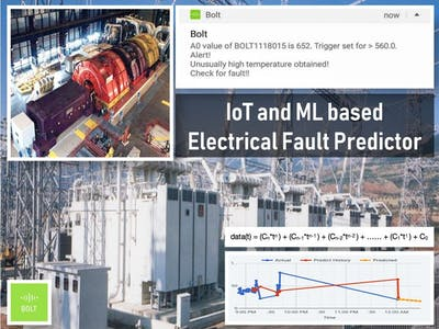 IoT and ML based Electrical Fault Predictor