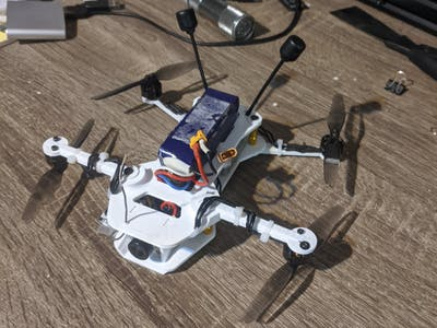 DJI FPV 3D Printed Drone