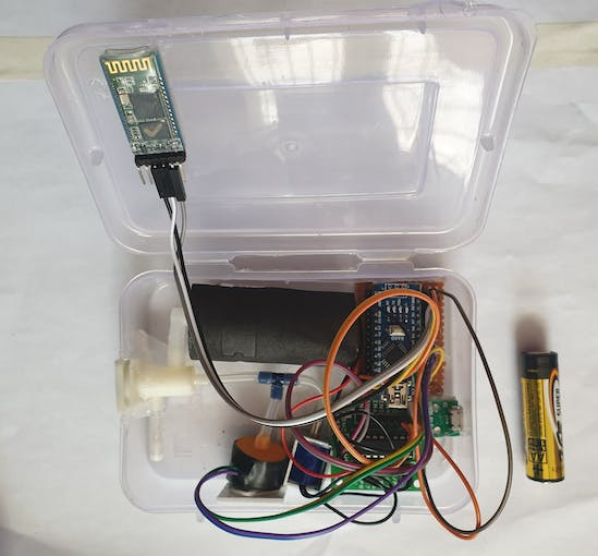 All Electronics inside the box