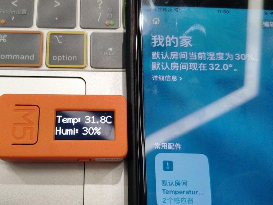 M5StickC with HomeKit Automation