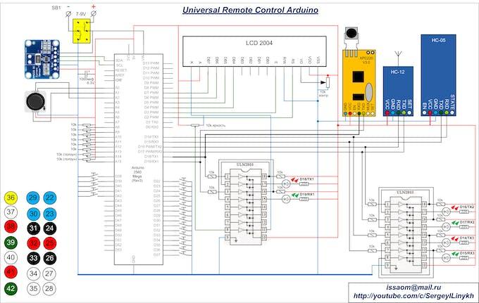 Universal Remote Control Arduino