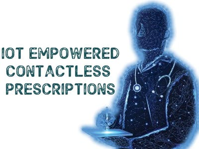 Contactless Prescriptions for disease control