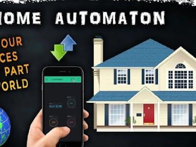 Home Automation NodeMcu ESP8266 | Arduino |