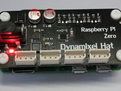 Raspberry Pi Zero Dynamixel Hat