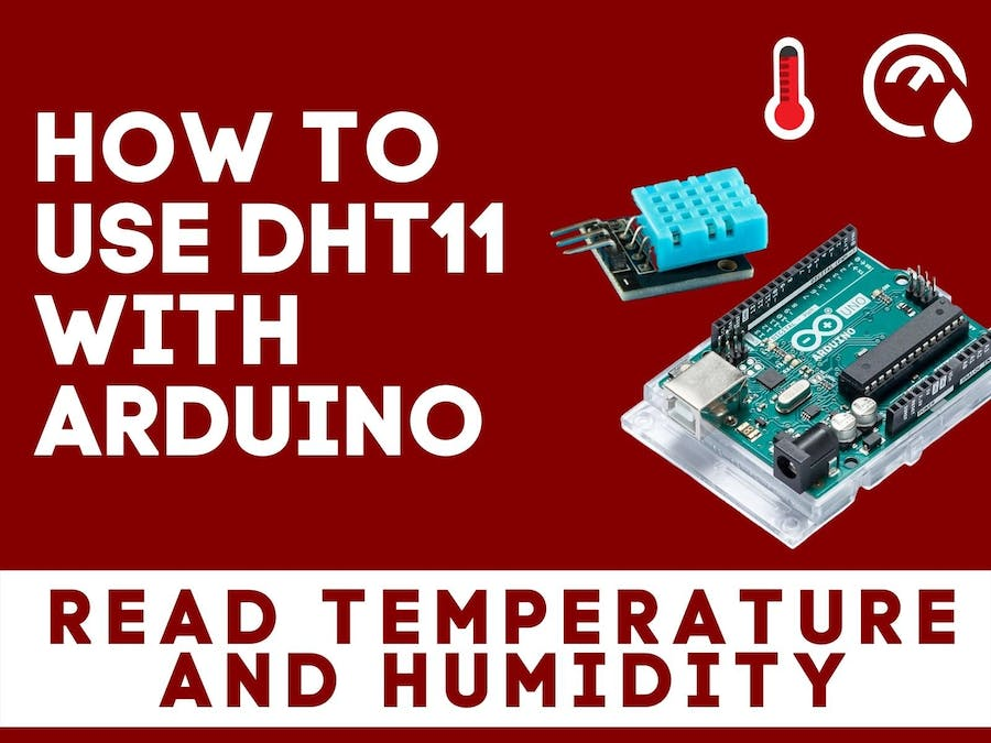 How to connect DHT11 Sensor with Arduino UNO