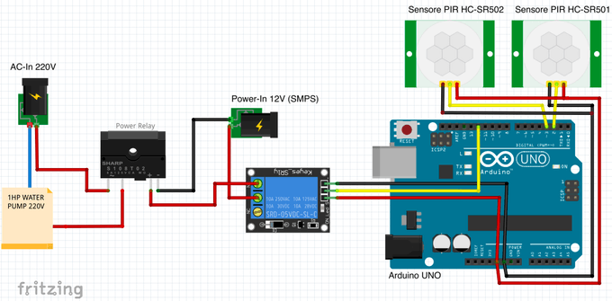 Arduino : Circuit Diagram
