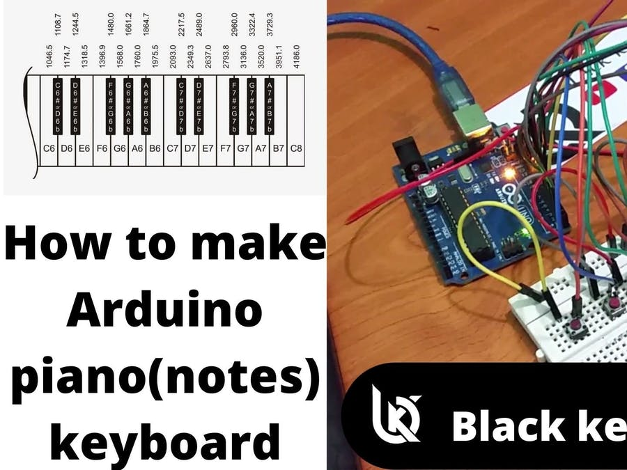 How to make Arduino Piano keyboard