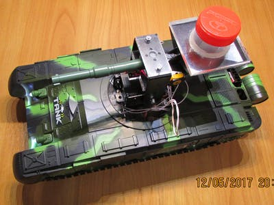 RC tank on Arduino