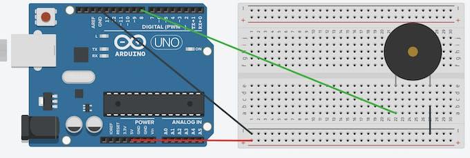Buzzer schematic