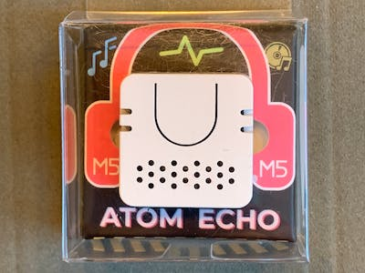 ATOM ECHO - First Experiments