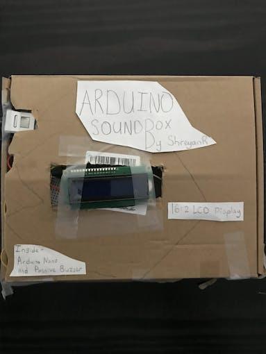 Arduino SoundBox