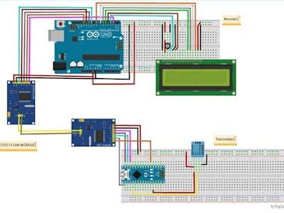 CAN Bus Using Arduino