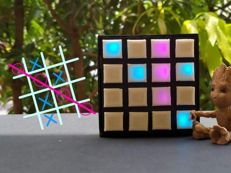 DIY Arduino Tic Tac Toe Game