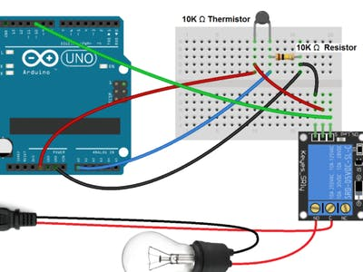 Set up a 5V Relay on the Arduino