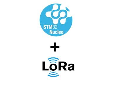 STM32 Nucleo-64 + LoRa RA-02 Temperature Sensor