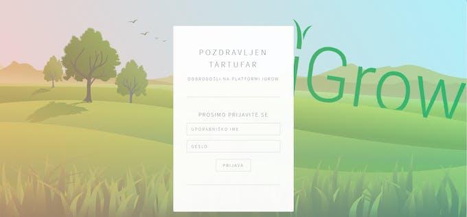 Login site